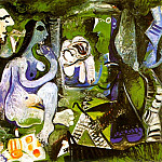Pablo Picasso (1881-1973) Period of creation: 1943-1961 - 1961 Le dВjeuner sur lherbe (Manet) 3