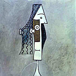 1957 TИte, Pablo Picasso (1881-1973) Period of creation: 1943-1961