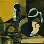 Pablo Picasso (1881-1973) Period of creation: 1943-1961 - 1943 Nature morte Е la cruche et au verre [Verre et pichet]