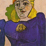 1944 Femme Е la broche en tИte de sphinx, Pablo Picasso (1881-1973) Period of creation: 1943-1961