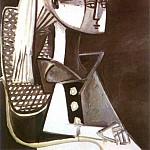 1954 Portrait de Sylvette David 03, Pablo Picasso (1881-1973) Period of creation: 1943-1961