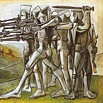 1951 Massacre en CorВe1, Pablo Picasso (1881-1973) Period of creation: 1943-1961
