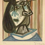 Pablo Picasso (1881-1973) Period of creation: 1943-1961 - 1943 TИte