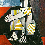 1954 Jacqueline Roque aux mains croisВes, Pablo Picasso (1881-1973) Period of creation: 1943-1961