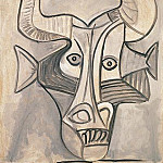 1958 Minotaure, Pablo Picasso (1881-1973) Period of creation: 1943-1961