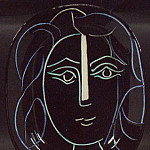1953 Visage de femme, Pablo Picasso (1881-1973) Period of creation: 1943-1961