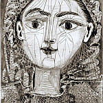 Pablo Picasso (1881-1973) Period of creation: 1943-1961 - 1953 FranЗoise Е la rВsille