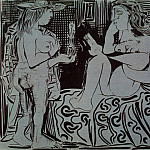 1959 Deux femmes, Pablo Picasso (1881-1973) Period of creation: 1943-1961