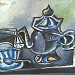 1953 ThВiКre et tasse, Pablo Picasso (1881-1973) Period of creation: 1943-1961
