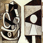 Pablo Picasso (1881-1973) Period of creation: 1943-1961 - 1956 Latelier [Fauteuil Е La Californie]