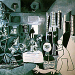Pablo Picasso (1881-1973) Period of creation: 1943-1961 - 1957 Les Menines (Velаzquez)
