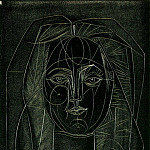 Pablo Picasso (1881-1973) Period of creation: 1943-1961 - 1946 Portrait de FranЗoise au long cou I