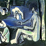 Pablo Picasso (1881-1973) Period of creation: 1943-1961 - 1961 Le dВjeuner sur lherbe (Manet) 7