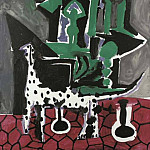 1959 Le chien dalmate, Pablo Picasso (1881-1973) Period of creation: 1943-1961