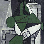 Pablo Picasso (1881-1973) Period of creation: 1943-1961 - 1953 Femme assise