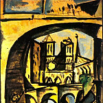 1944 Notre-Dame 2, Pablo Picasso (1881-1973) Period of creation: 1943-1961