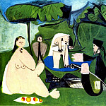 1960 Le dВjenuer sur lherbe 1, Pablo Picasso (1881-1973) Period of creation: 1943-1961