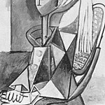 1954 Portrait de Sylvette David 09, Pablo Picasso (1881-1973) Period of creation: 1943-1961