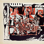 Pablo Picasso (1881-1973) Period of creation: 1943-1961 - 1951 Le dВpart