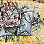 1947 Les cerises, Pablo Picasso (1881-1973) Period of creation: 1943-1961