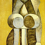 1946 Femme debout, Pablo Picasso (1881-1973) Period of creation: 1943-1961