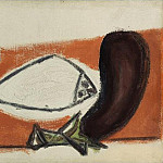 1946 Citron, poisson, aubergine, Pablo Picasso (1881-1973) Period of creation: 1943-1961
