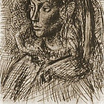 1954 Portrait de Sylvette David 08, Pablo Picasso (1881-1973) Period of creation: 1943-1961