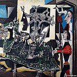 1951 jeux de pages, Pablo Picasso (1881-1973) Period of creation: 1943-1961