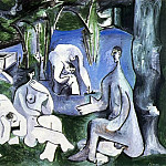 Pablo Picasso (1881-1973) Period of creation: 1943-1961 - 1961 Le dВjeuner sur lherbe (Manet) 5