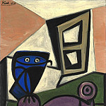 Pablo Picasso (1881-1973) Period of creation: 1943-1961 - 1947 Hibou sur une chaise