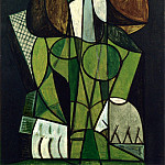 1946 Femme assise, Pablo Picasso (1881-1973) Period of creation: 1943-1961