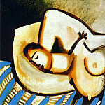 1955 Grand nu allongВ aux bras croisВs, Pablo Picasso (1881-1973) Period of creation: 1943-1961