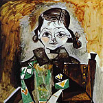 1956 Paloma Picasso, Pablo Picasso (1881-1973) Period of creation: 1943-1961