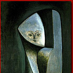 Pablo Picasso (1881-1973) Period of creation: 1943-1961 - 1946 TИte de femme (FranЗoise Gilot)