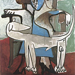 1959 Jacqueline et le chien afghan, Pablo Picasso (1881-1973) Period of creation: 1943-1961