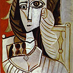 1960 Jacqueline, Pablo Picasso (1881-1973) Period of creation: 1943-1961