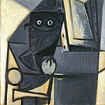 1947 Hibou sur une chaise 2, Pablo Picasso (1881-1973) Period of creation: 1943-1961