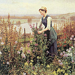 American artists - Knight, Daniel Ridgway (American, 1839-1924)