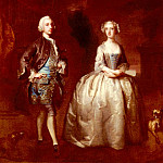 American artists - Highmore Joseph Portrait Of A Lady And Gentleman