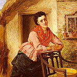 American artists - Barnes Edward Charles A Rest From Labour