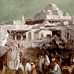 Nourse Elizabeth The Mosque Tunis, American artists