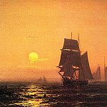American artists - Haas, Mauritz F. H. de (Dutch, practiced in America, 1832-1895)
