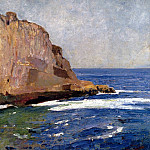 American artists - Carlsen Emil Bald Head Cliff York Maine