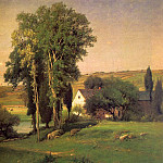 American artists - Inness, George (American, 1825-1894)