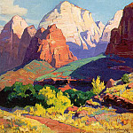 American artists - Bischoff, Franz (Austrian, practiced mainly in America, 1864-1929) 2