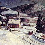 Christmas Eve, Swiftwater, American artists