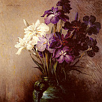 American artists - Weir John Ferguson Japanese Iris Six Varieties