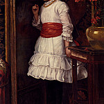 American artists - Brooks Maria The Red Sash