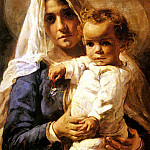Nourse Elizabeth A Mother And Child, American artists