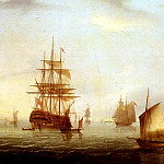 Buttersworth James E Sailing Vessels Off A Coastline, Edward A Buttersworth
